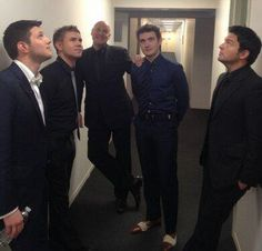 Celtic Thunder - they're all so humourous :-)