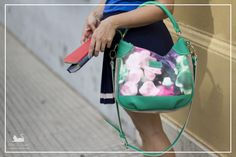 Pandora verde 100% cuero argentino Leather bag made with love <3  www.ohlechat.com