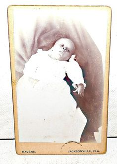 POST-MORTEM-CDV-African-American-Child-Jacksonville-Florida-Fla-Early-1900s