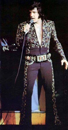 elvis presley black jumpsuit costume images - Google Search