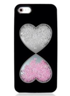 Cute heart timer phone case.