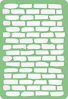 Трафарет стена