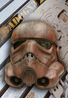 An awesome #CNC Mask project.  What do you think about this?                                                                                                                                                     More