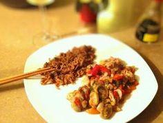 Receita de Frango com legumes na wok - Fácil