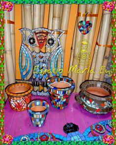 Objetos con mosaiquismo y trencadis - Espacio María Eugenia Yahoo Images, Image Search, Vacuums, Home Appliances, Ideas, Google, Castles, Mosaics, Space