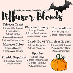 Essential oil diffuser recipes image by Lady Amaris~ on Paganesque: All Others~ Essential Oils Room Spray, Essential Oil Diffuser Blends, Essential Oil Uses, Doterra Essential Oils, Young Living Essential Oils, Essential Ouls, Doterra Diffuser, Yl Oils, Diffuser Recipes