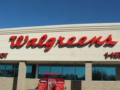 walgreens letter signage - Google Search