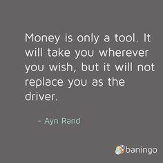 zpr You are the driver! - #money mit @baningo @aynrand  _______ #quote #instaquote #quoteoftheday #bank #onlinebanking #cash #finance #ecommerce #banking #fintech #startup #cybersecurity #business #financialservice #allbanks #success #entrepreneur #profit #igers #vienna #austria #igersvienna #wienstagram  #ig_vienna #instavienna  #stadtbekannt #1000thingstodoinvienna #wiensider #1000thingsinvienna