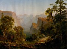 The Athenaeum - View of the Yosemite Valley, in California (Thomas Hill - )