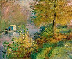Claude Monet - Le bateauatelier