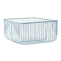 Just Wire is a graphic wire basket where you can store small items and knick-knacks that you'd like to be visible.