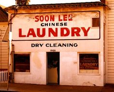 The stereotype of the Chinese laundry comes from historical anti-Chinese exclusion from other forms of work.   From: 10 examples of #AAPI's rich history of resistance