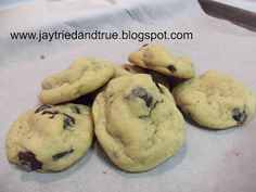 Jay Tried and True: Chewy Chocolate Chunk Cookies