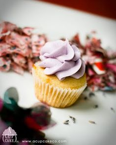 Lavender Honey cupcake by A Cupcake Co.