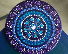 Práctico de Costa cristal punto de Mandala por Mandaladropsofjoy