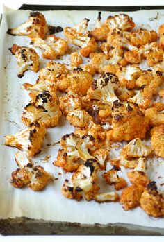 Easy Buffalo Cauliflower