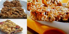 Barritas de muesli con frutos secos la    #receta