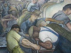 Diego Rivera, Detroit Institute of Arts