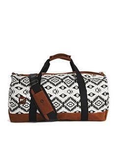 Mi-Pac Geo-Tribal Print Duffle Bag Duffle Bag Travel a8caee5f93dba