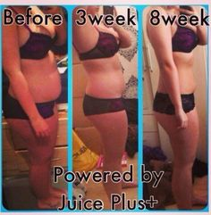 Complete Transformation - Before 3 weeks and 8 weeks on Juice Plus+   To find out more about the amazing range of Juice Plus products and business opportunities, contact me at SarahBaptiste1979@gmail.com or add me on Facebook www.facebook.com/sarah.baptiste.526