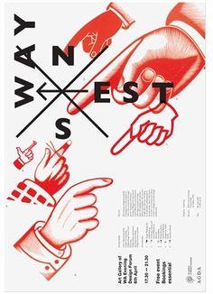 AGDA event posters, Uriah Gray's Portfolio