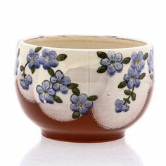 Cole2010 White Slip, Ceramic Bowls, Earthenware, Pottery, Clay, Hand Painted, Ceramics, Artist, Handmade