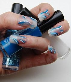 Lovely Nail Art Ideas For Girls In Winter-Fall 2013-2014 for more visit http://fashion1in1.com