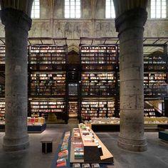 Bookstore Selexyz Dominicanen Maastricht in the Netherlands