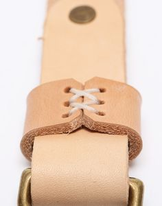 Context Leather Natural Leather Braces - CONTEXT CLOTHING - Free Shipping!
