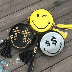 Bolsas Divertidas Emoticons Bolsos Carteras Mujer