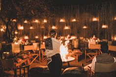A magical evening in the Founders Camp Boma 🌙 Lanterns lit and a crackling fire awaiting guests... . Use the link in our bio to find out more about Founders Camp . . #londolozi #theondolozieffect #relais #relaischateaux #boma #fire #bonfire #lanterns #safari #africa #southafrica #luxurysafari #wanderlust #travelgram  #instatravel #adventure #instagood #photooftheday #instadaily  #outdoors #campfire Plunge Pool, Game Reserve, Family Camping, Lodges, South Africa, Lanterns, Safari, African, Fire