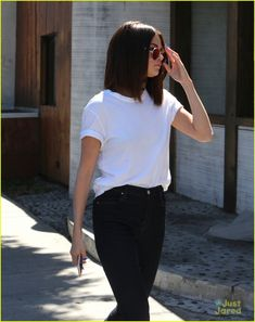 March 31: [More] Selena seen out and about in Los Angeles, California.