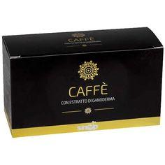 Confezione da 30 bustine da 4 gr. di caffè solubile con estratto di ganoderma lucidum