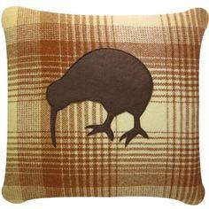 kiwi blanket cushion