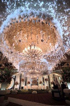 Ideas wedding ceremony ideas indoor chandeliers for 2019 Wedding Ceremony Ideas, Indoor Wedding Ceremonies, Wedding Stage, Wedding Goals, Wedding Venues, Wedding Reception, Trendy Wedding, Luxury Wedding, Perfect Wedding