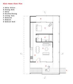 Dwell House Plans bruce bolander :: floorplan :: via dwell magazine | :: blueprints