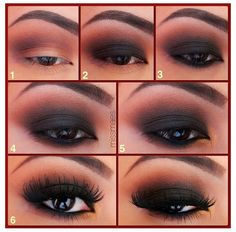 How to do a smokey eye!