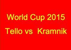 World Cup 2015: Tello vs  Kramnik