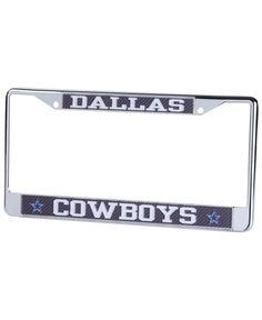 Stockdale Dallas Cowboys Carbon Laser License Plate Frame