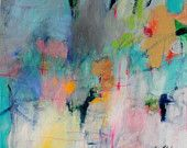 Abstract Expressionist Paintings by kerriblackmanfineart on Etsy