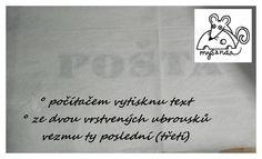 moje tvořeníčko - Fotoalbum - PLETENÍ Z PAPÍRU-návody - PŘENOS PÍSMA NA KOŠÍKY