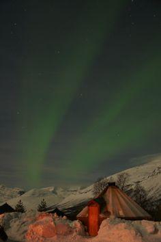 Lyngen Alps near Tromsø, Norway, 2014