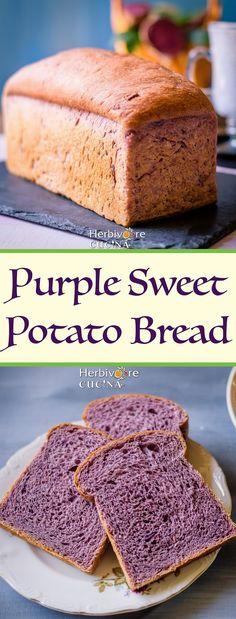 Herbivore Cucina: Purple Sweet Potato Bread