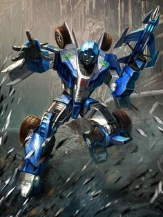 Autobot Mirage Artwork From Transformers Legends Game