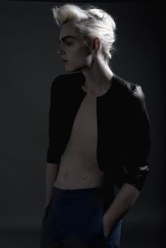 STYLIST SAYS: Andrej Pejic - Never seen editorial!