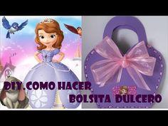 BOLSITAS DE ROSITA  FRESITA DE FOAMY PARA DULCEROS O PARA BOLSA DE MANO PARA NIÑAS - YouTube