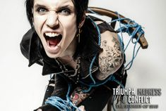Rocksound: frontman Andy Biersack: 'I Like To Think This Is Only The Beginning' http://rcksnd.tv/4bSvmG