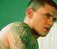 Wentworth Miller Yes, i would break u out of prison!!!