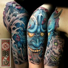 Hannya tatoo