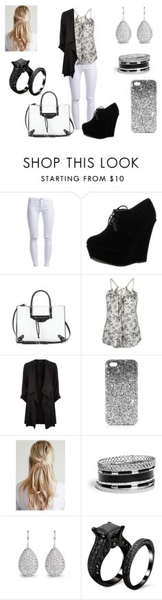 """""""#146"""" by lucieprettyliars ❤ liked on Polyvore featuring ONLY, Forever Link, Balenciaga, Full Tilt, Topshop and GUESS"""